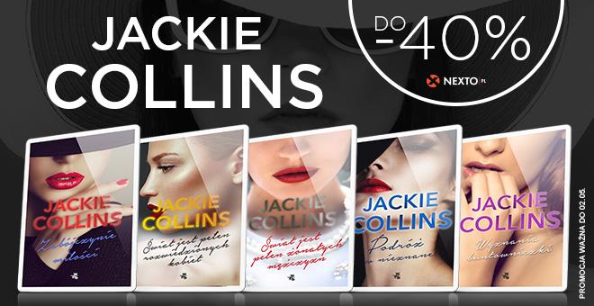 Nexto: do 40% zniżki na ebooki Jackie Collins