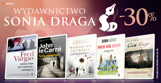 Nexto: 30% rabatu na ebooki wydawnictwa Sonia Draga