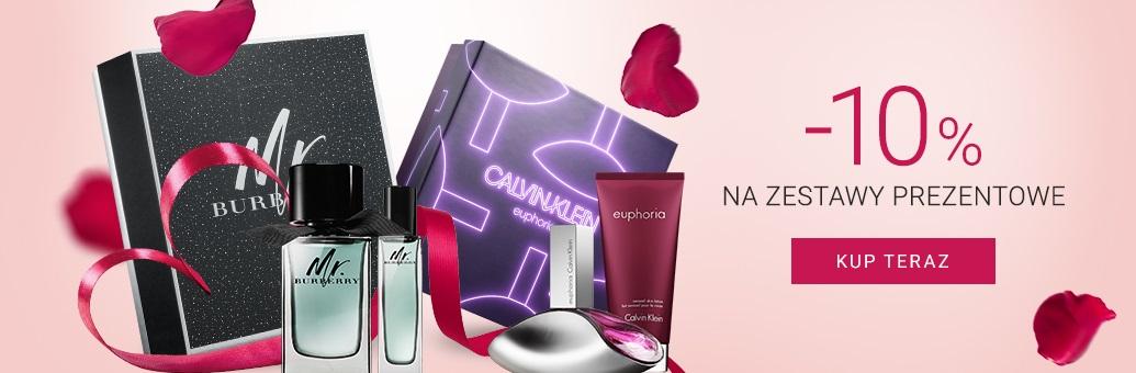 Notino: 10% rabatu na zestawy Walentynkowe kosmetyków - prezent na Walentynki