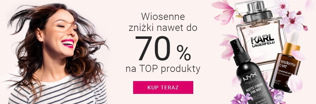 Notino: do 70% rabatu na top kosmetyki i perfumy