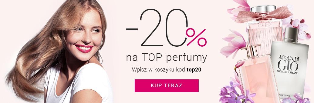 notino Notino: 20% rabatu na Top perfumy