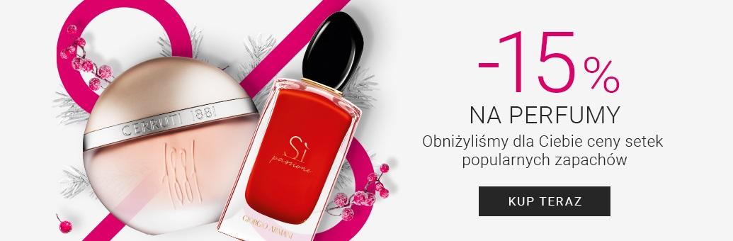Notino: 15% zniżki na perfumy damskie i męskie