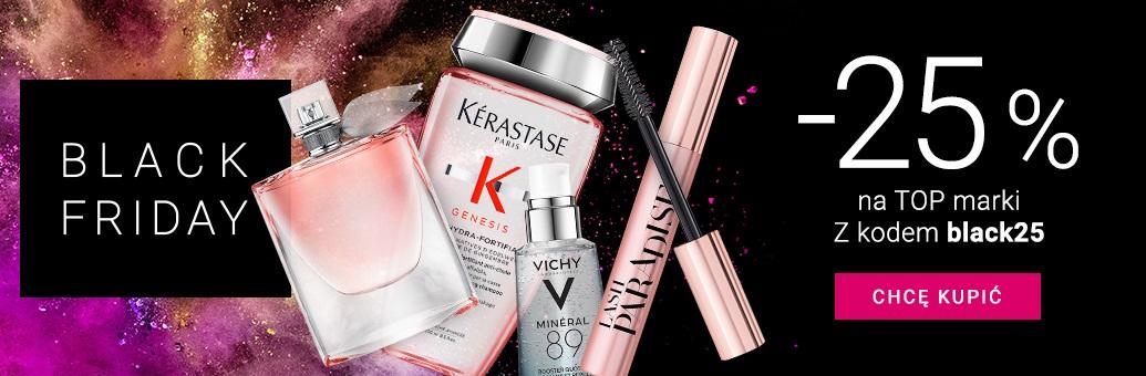 Notino: Black Friday 25% zniżki na kosmetyki i perfumy top marek