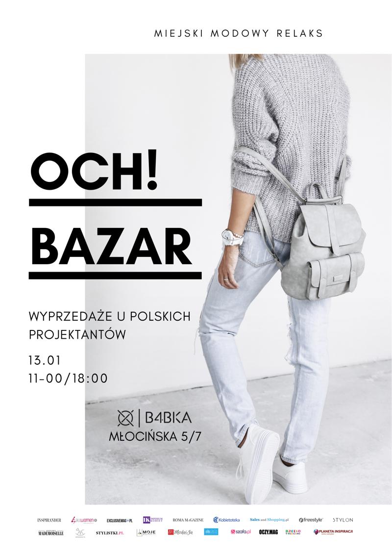 Targi mody Och! Bazar Warszawa 13 stycznia 2019                         title=
