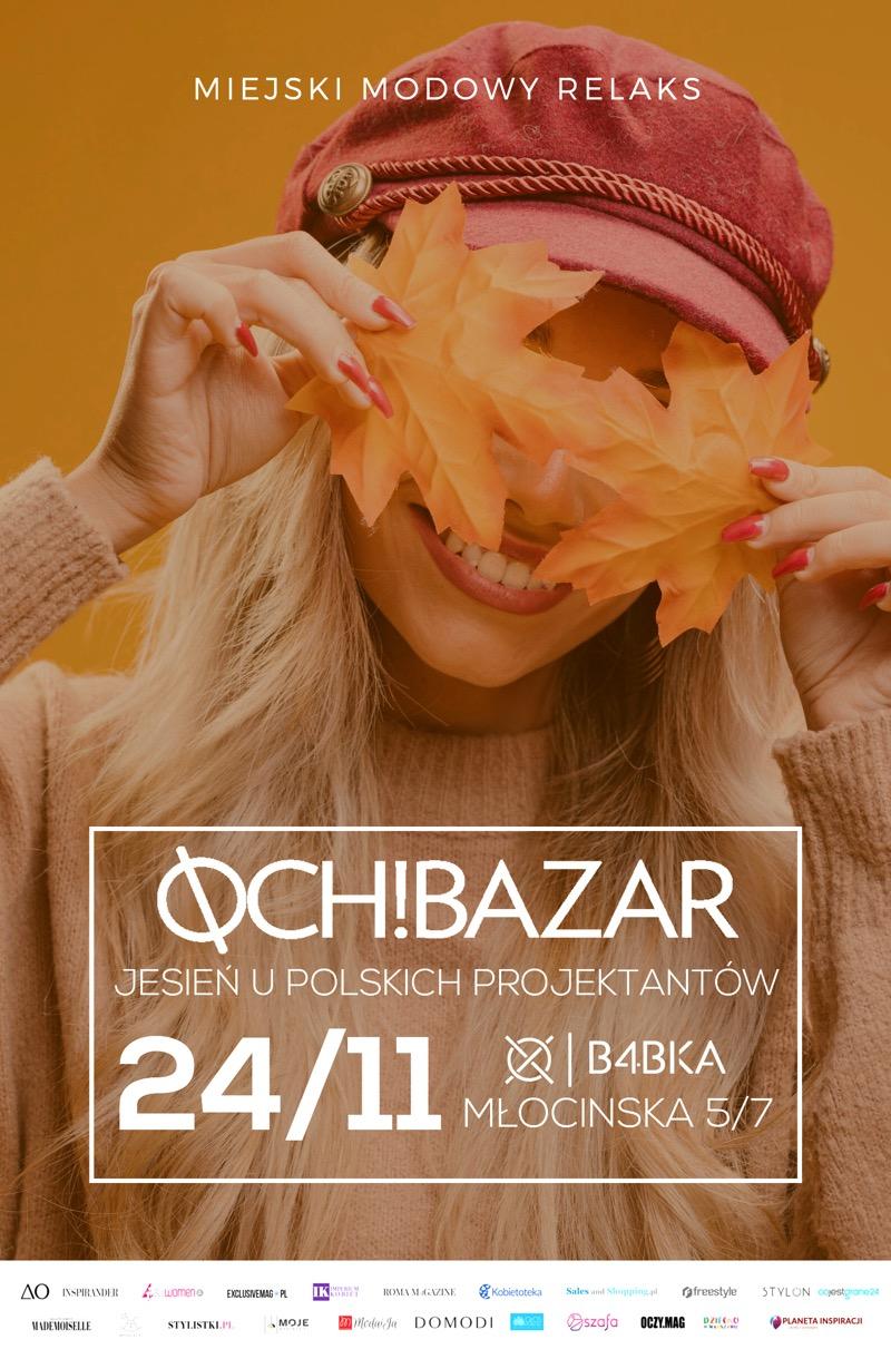 Targi mody Och! Bazar Warszawa 24 listopada 2019                         title=