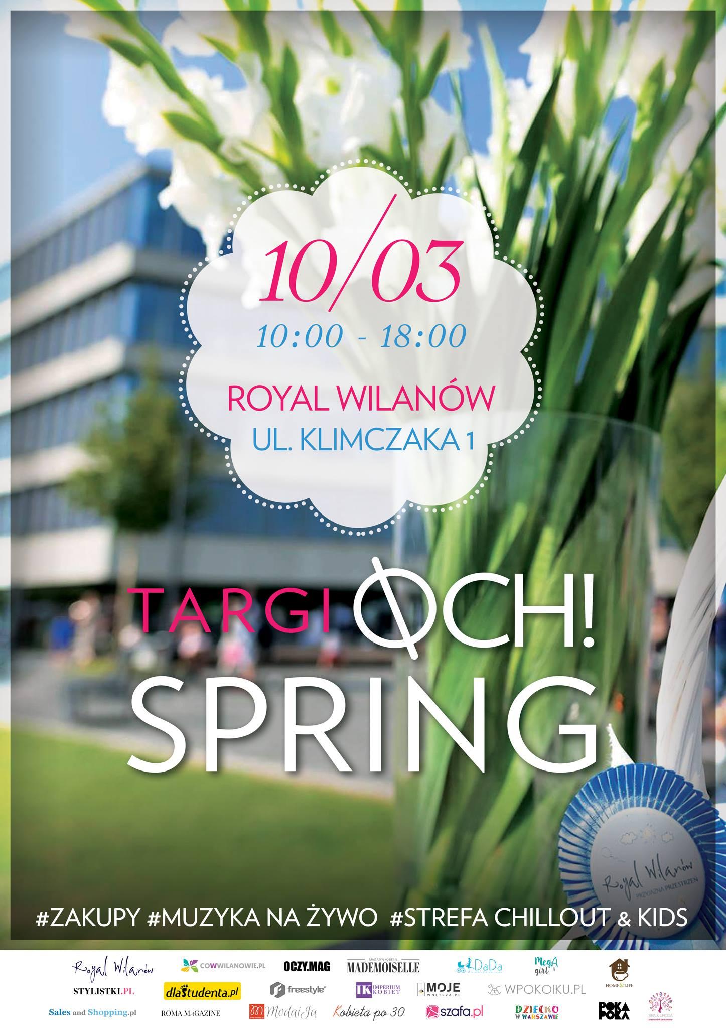 Targi mody Och!Spring Warszawa 10 marca 2018                         title=