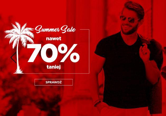 Ombre: wyprzedaż do 70% rabatu na odzież męską