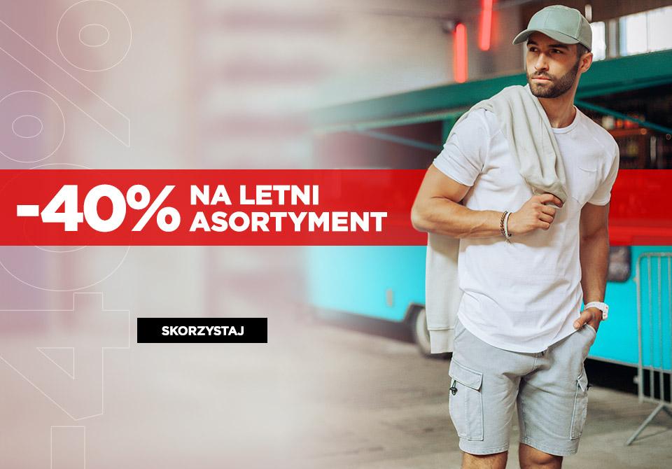 Ombre: 40% rabatu na letni asortyment odzieży męskiej