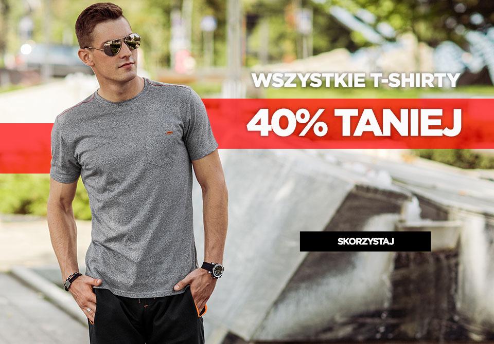 Ombre: 40% rabatu na wszystkie t-shirty