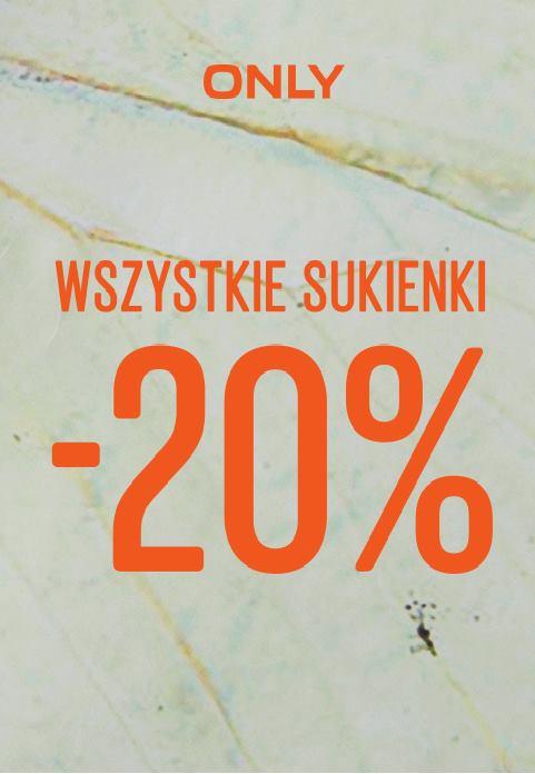 Olny: 20% zniżki na sukienki