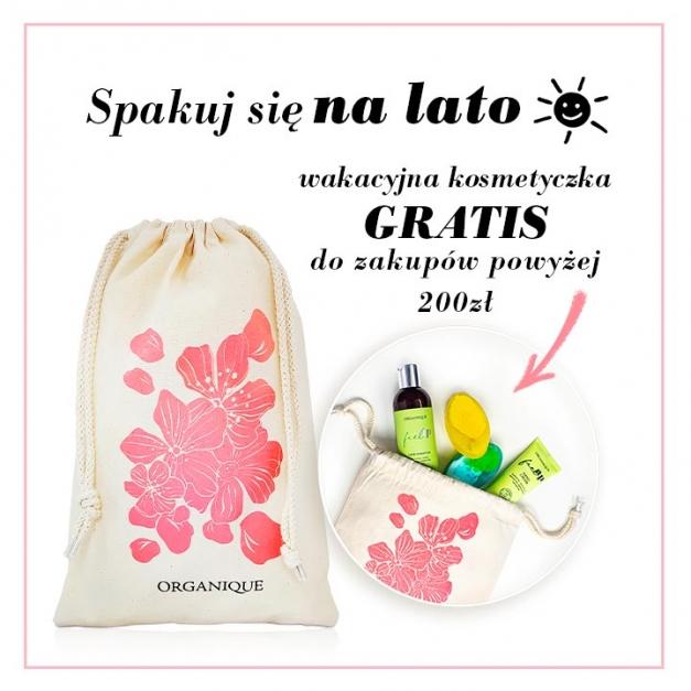 Organique: kup kosmetyki za min. 200 zł, a kosmetyczkę otrzymasz Gratis