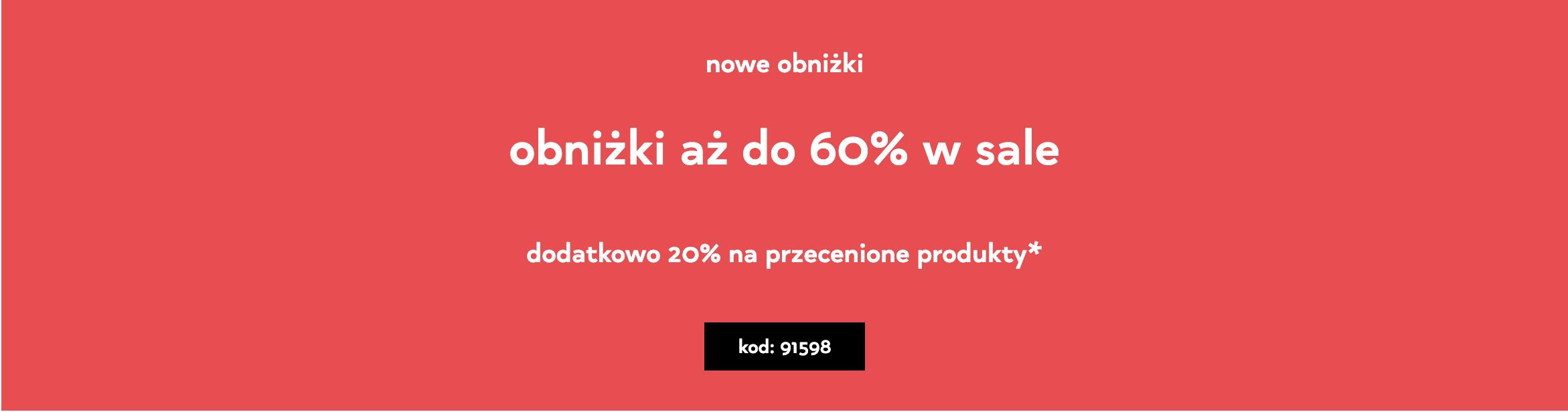 Orsay: wyprzedaż do 60% zniżki na ubrania damskie
