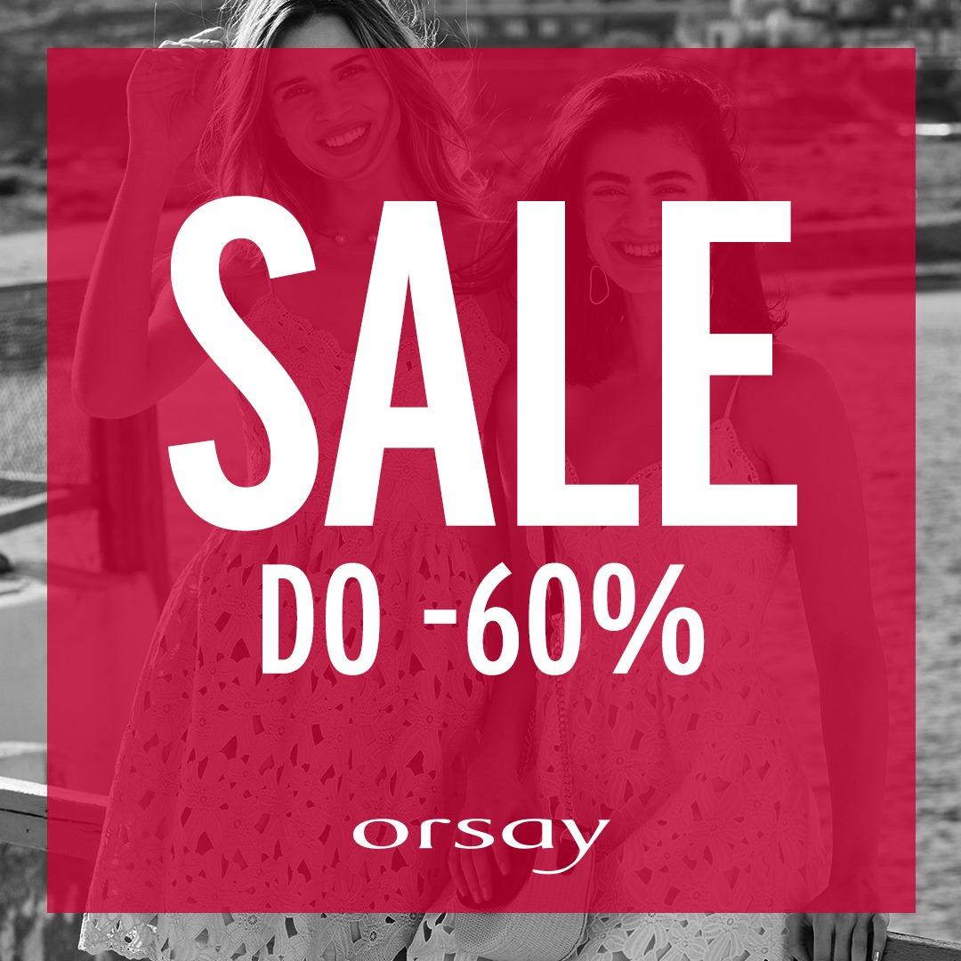 Orsay: wyprzedaż do 60% rabatu na odzież damską                         title=