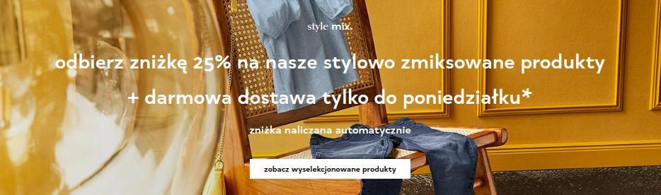 Orsay Orsay: 25% rabatu na odzież damską - wybrane produkty