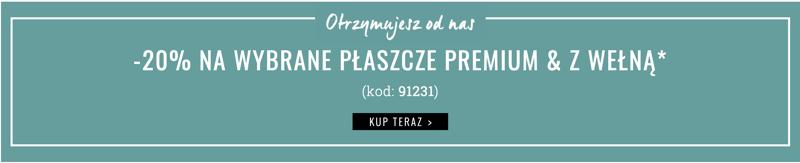 Orsay: 20% rabatu na wybrane płaszcze premium i z wełną                         title=