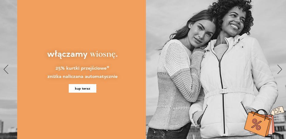 Orsay Orsay: 25% rabatu na kurtki przejściowe