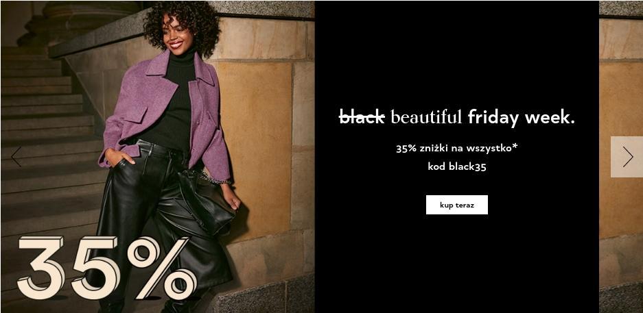 Orsay: Beautiful Friday Week 35% rabatu na odzież damską