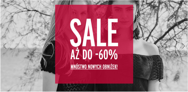 Orsay: wyprzedaż do 60% zniżki na odzież damską                         title=