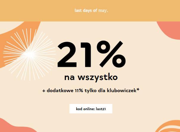 Orsay Orsay: 21% rabatu na cały asortyment odzieży - last days of may