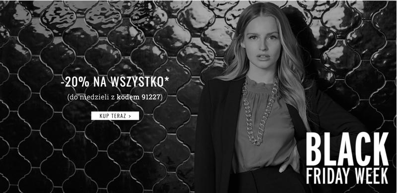 Orsay: Black Friday Week 20% rabatu na odzież damską                         title=