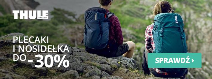 Outdoorzy: do 30% zniżki na plecaki i nosidełka marki Thule