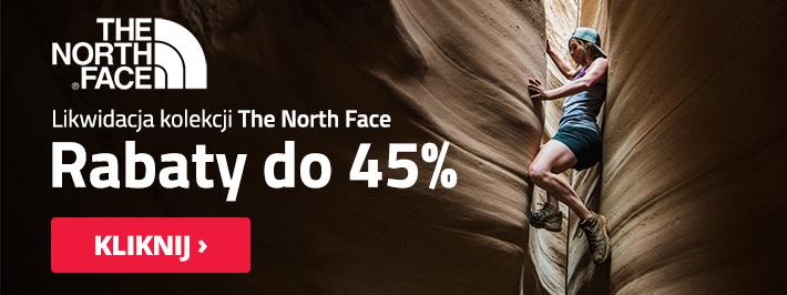 Outdoorzy: do 45% zniżki na kolekcję The North Face