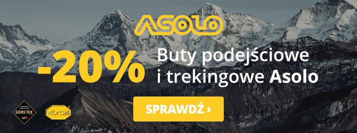 Outdoorzy: 20% rabatu na buty podejściowe i trekingowe marki Asolo