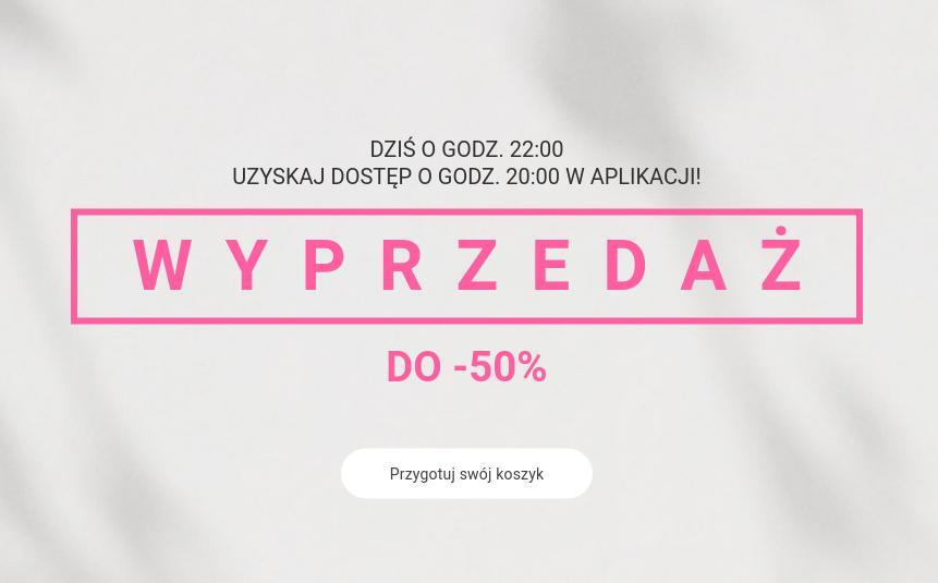 Oysho Oysho: wyprzedaż do 50% zniżki na odzież, obuwie, bieliznę, akcesoria