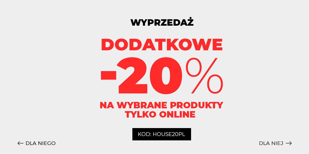 House House: 20% zniżki na wybrane produkty