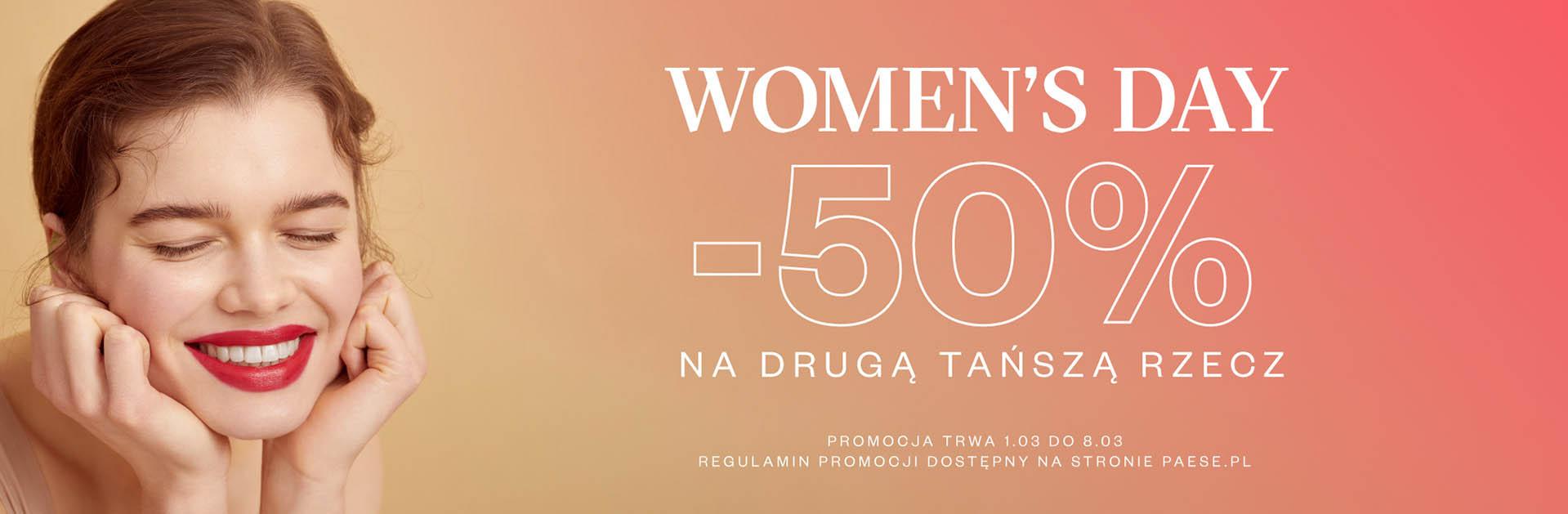 Paese Paese: 50% rabatu na drugi, tańszy kosmetyk - Dzień Kobiet