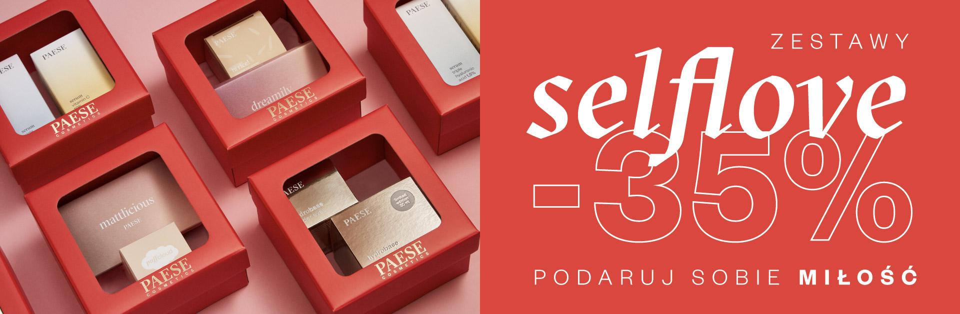 Paese: 35% zniżki na zestawy kosmetyków selflove