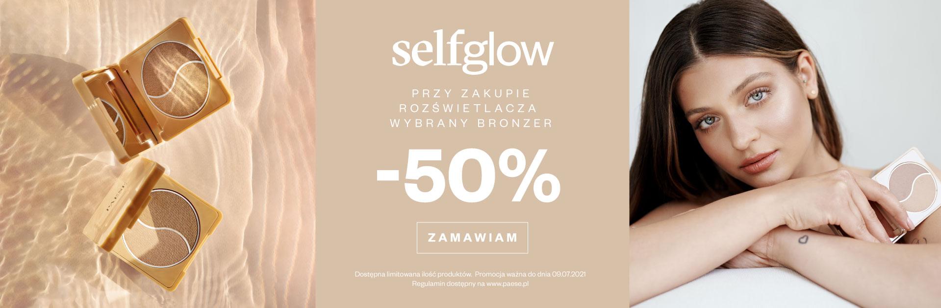 Paese: 50% rabatu na wybrany bronzer przy zakupie rozświetlacza selfglow