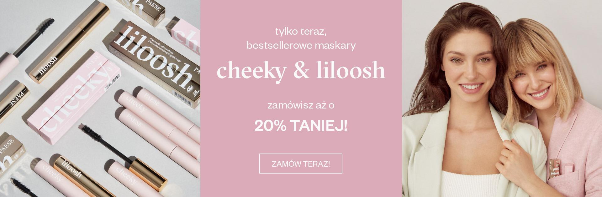 Paese: 20% zniżki na bestsellerowe maskary cheeky & liloosh