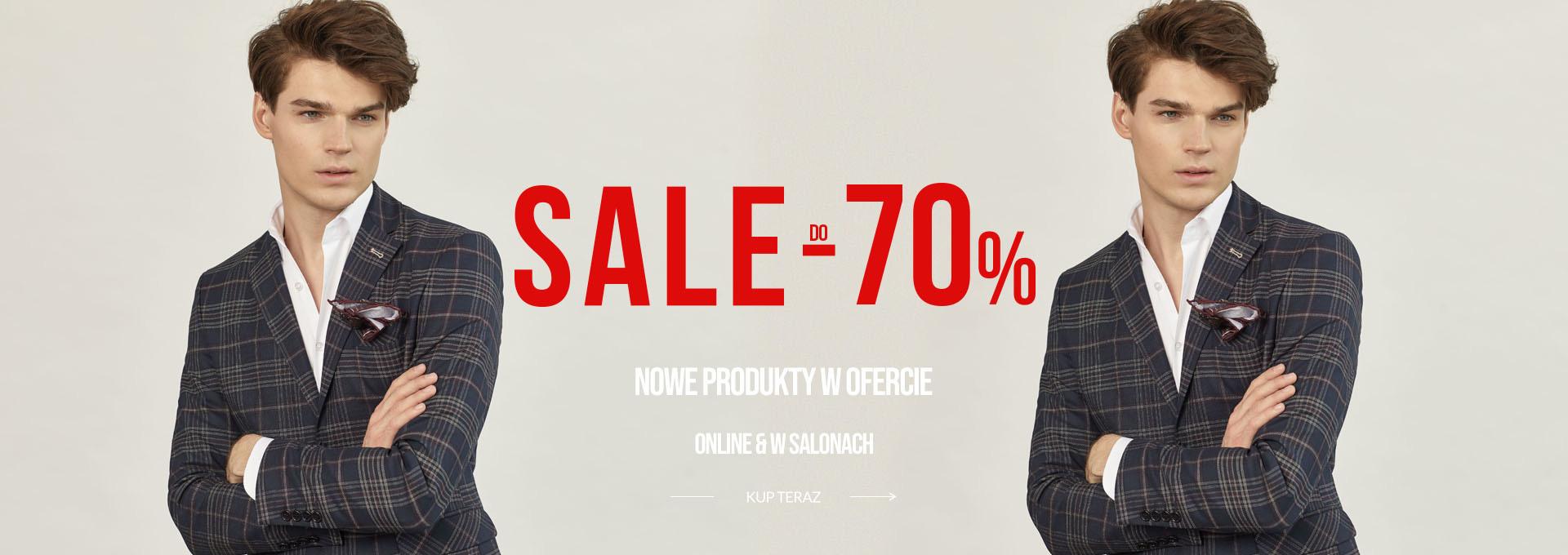 Pako Lorente: wyprzedaż do 70% rabatu na odzież męską