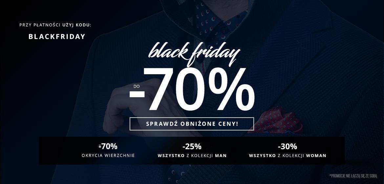 Black Friday Pako Lorente: do 70% zniżki na odzież damską i męską