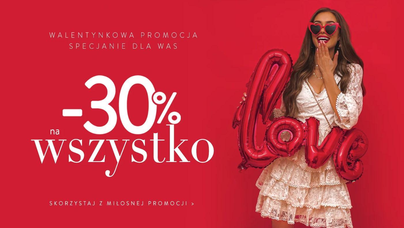 Pakuten: 30% rabatu na cały asortyment odzieży damskiej
