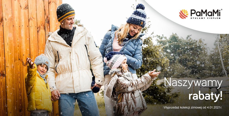 Pamami Pamami: wyprzedaż do 50% rabatu na kolekcję zimową