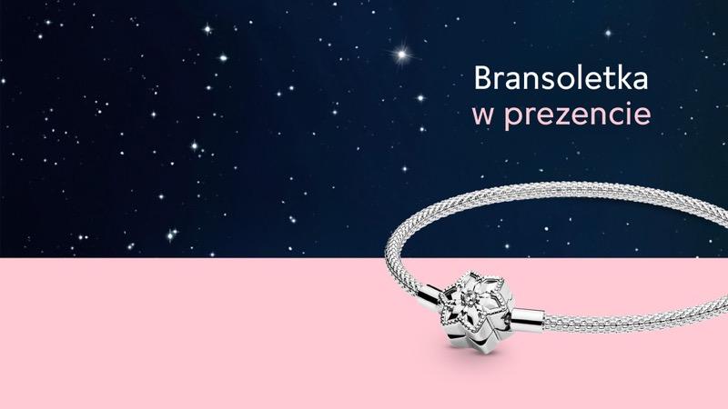 Pandora: przy zakupach za min. 449 zł bransoletka w prezencie