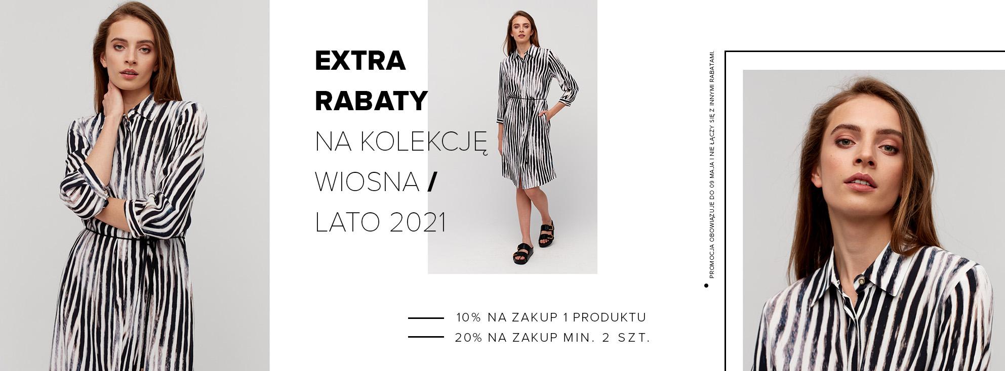Patrizia Aryton Patrizia Aryton: 20% zniżki na odzież damską przy zakupie min. 2 szt. lub 10% zniżki przy zakupie 1 szt.