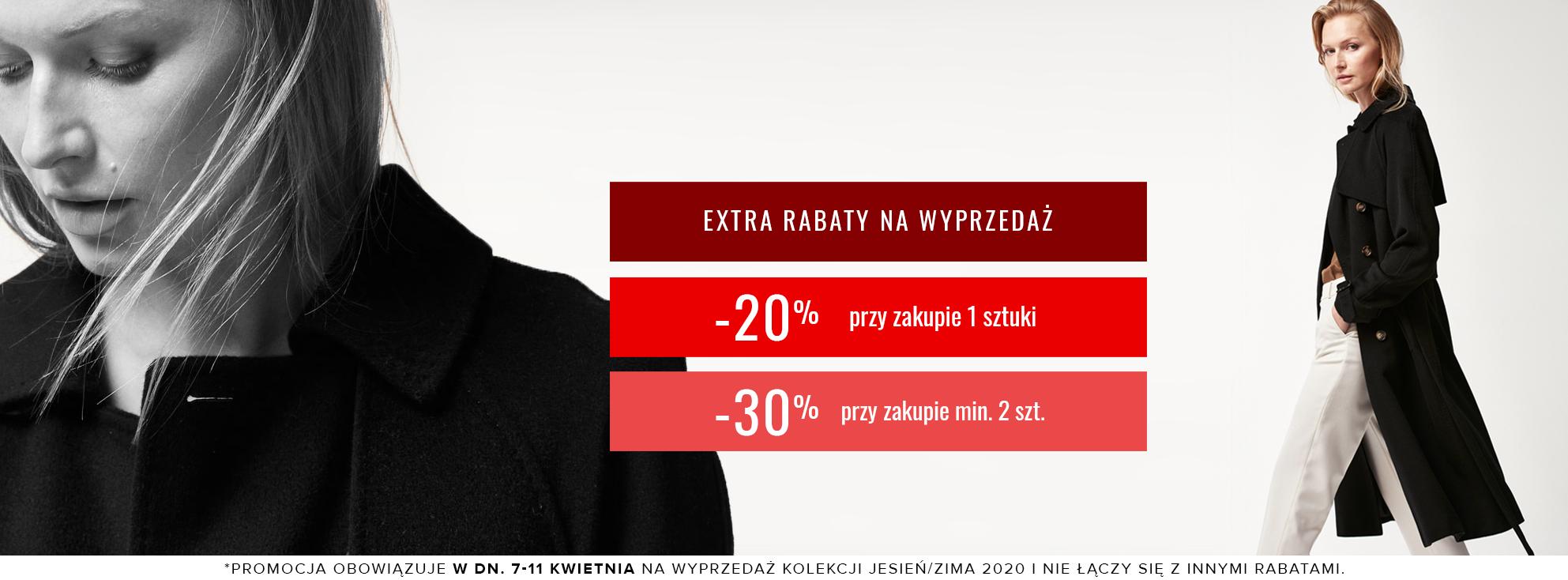 Patrizia Aryton Patrizia Aryton: dodatkowe 30% zniżki na odzież damską z wyprzedaży przy zakupie 2 szt., 20% zniżki przy zakupie 1 szt.
