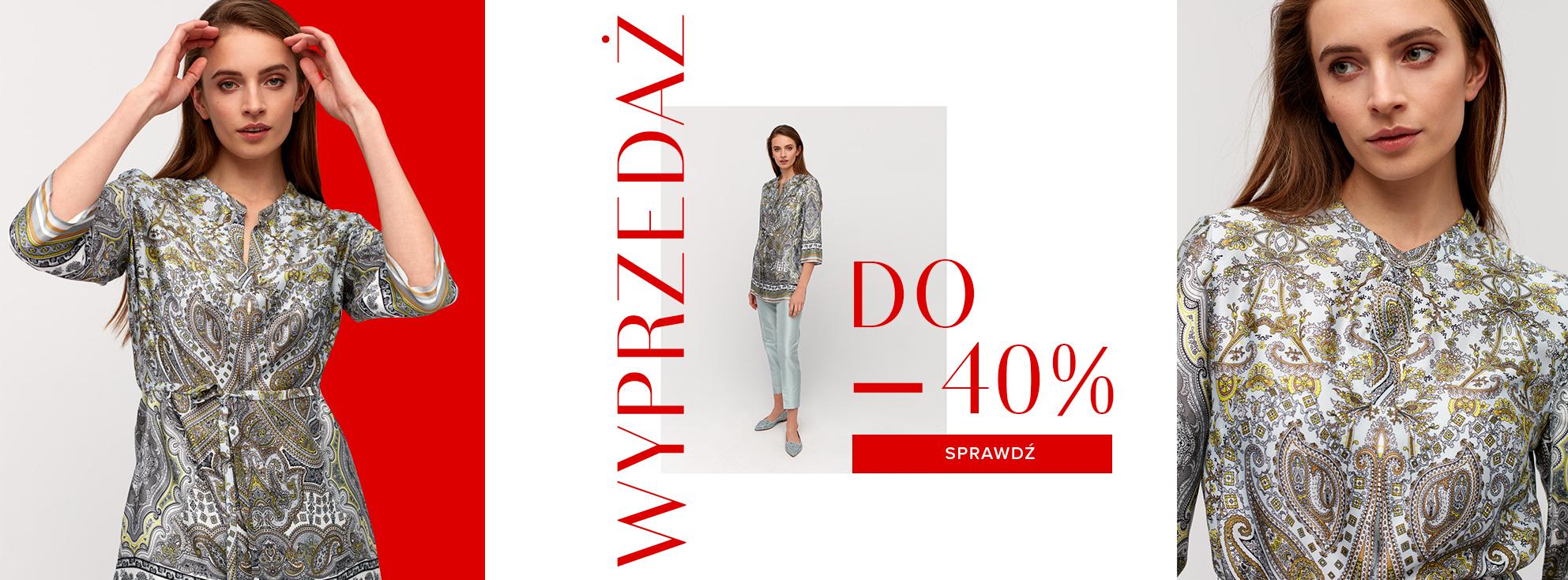 Patrizia Aryton: wyprzedaż do 40% zniżki na odzież damską