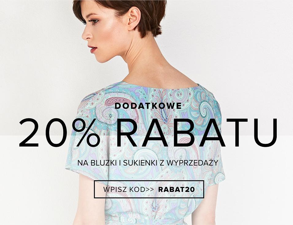 dab5abb8a5 Patrizia Aryton  dodatkowe 20% rabatu na bluzki i sukienki z wyprzedaży