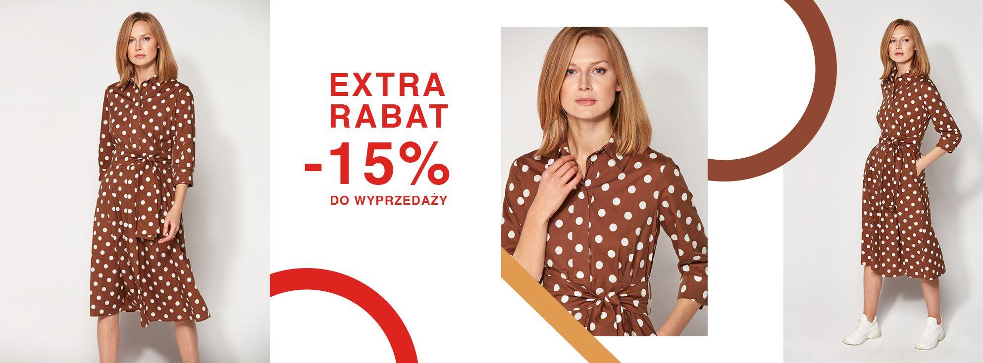 Patrizia Aryton: dodatkowe 15% rabatu na odzież damską z wyprzedaży