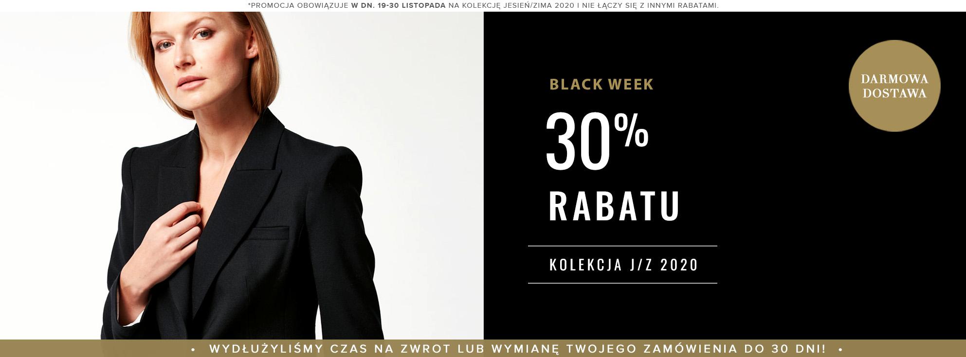 Patrizia Aryton: Black Week 30% rabatu na ekskluzywną odzież damską