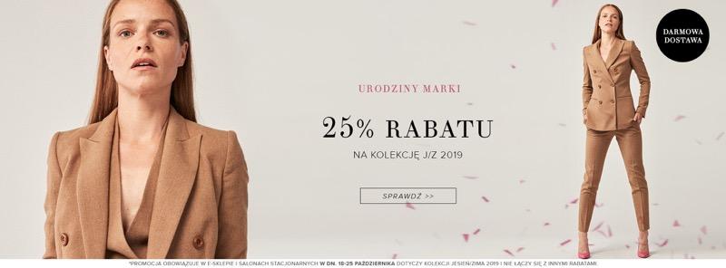 Patrizia Aryton: 25% zniżki na damską kolekcję jesień-zima