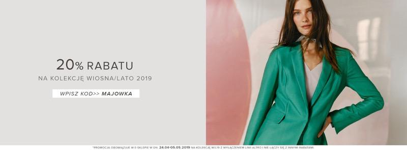 Patrizia Aryton: 20% zniżki na kolekcję wiosna/lato odzieży damskiej
