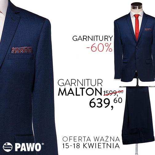 Pawo: 60% zniżki na garnitury