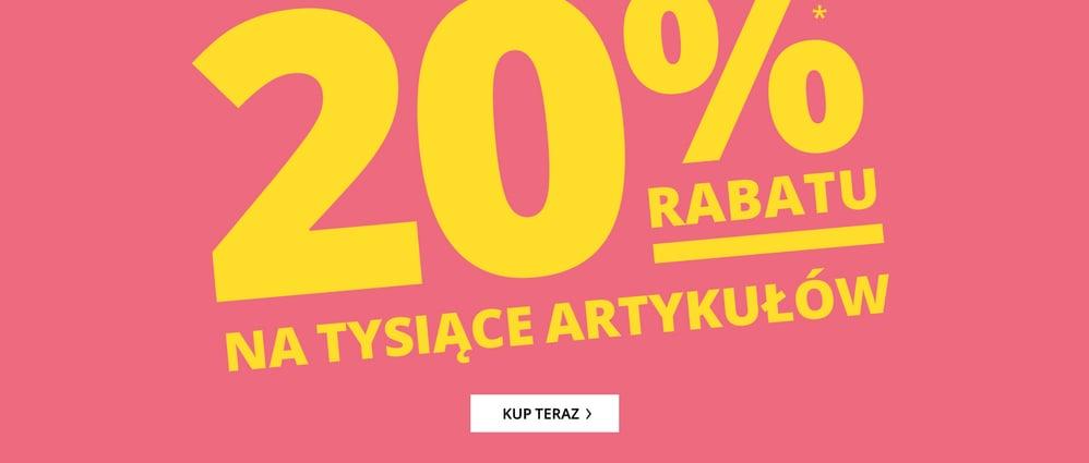 Peek & Cloppenburg: 20% zniżki na tysiące produktów - odzież oraz obuwie znanych marek