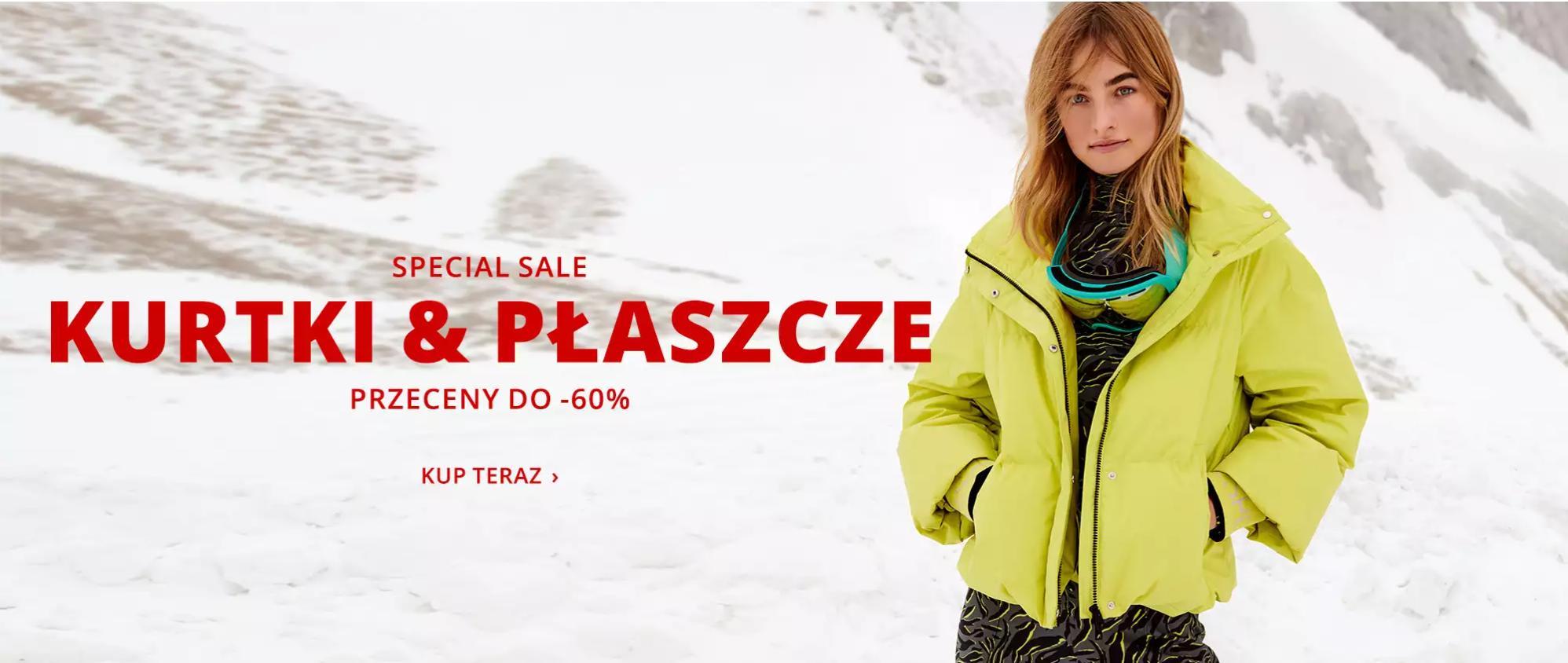 Peek & Cloppenburg: wyprzedaż do 60% zniżki na kurtki i płaszcze damskie i męskie