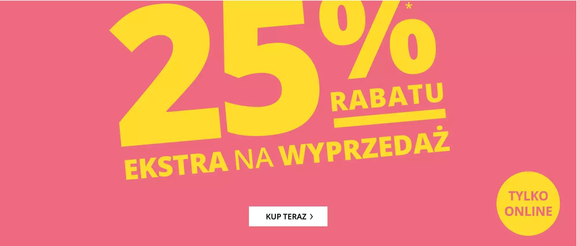 Peek & Cloppenburg: 25% extra rabatu na wyprzedaż odzieży damskiej, męskiej i dziecięcej